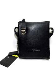 Универсальная кожаная борсетка-сумочка Armani 9051-3