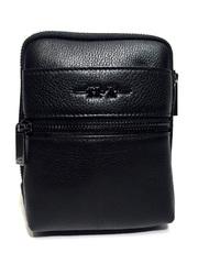 Мужская кожаная сумка на ремне HT 407-1