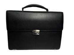 Мужской кожаный портфель - Salvatore Feragamo 6615