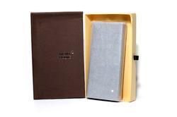 Отличный подарок - красивое мужское портмоне Mont Blanc 7635