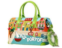 Возьмите меня в летние страны! Летняя сумка для отдыха - Яркая и необычная сумка от Braccialini BR00-12R