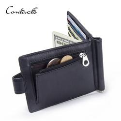CONTACT'S модный зажим для денег из натуральной кожи 1016