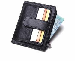 Тонкий бумажник для кредитных карт из натуральной кожи VN-1007