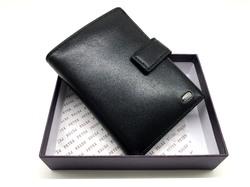 Вертикальный кожаный бумажник для водителя PETEK P-1704