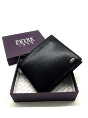 Повседневное кожаное портмоне без застежки PETEK P-1721