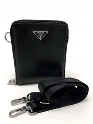 Бюджетная сумка-планшет с двумя замками на молнии Prada PR-01