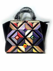Необычная фигурная сумка Mann Kelly - 6086