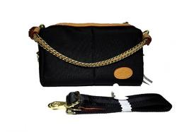 Удобная маленькая нейлоновая сумка Gucci 087