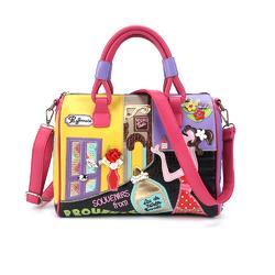 Я хочу такую сумочку!!! Яркая и необычная сумка от Braccialini - BR0012
